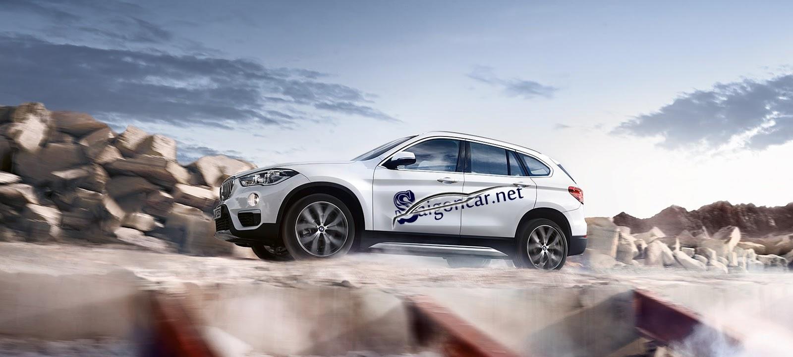 thân xe BMW X1 2019
