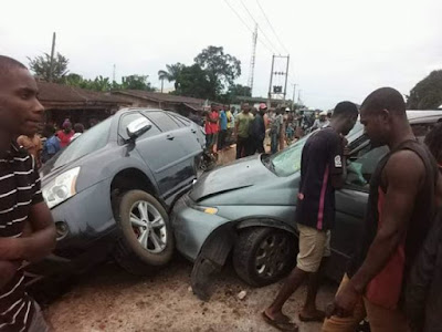 Multiple Accident Leaves Two Persons Dead In Imo (Photos)