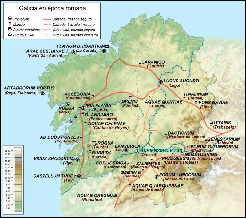 Galicia en la época romana
