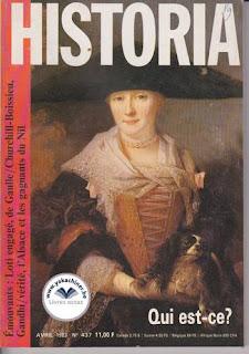 Revue Historia, 437 1983, QUI EST-CE ?
