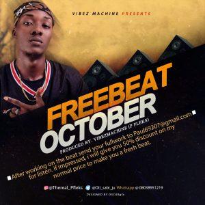 Freebeat October By VibezMachine (Pfleks)