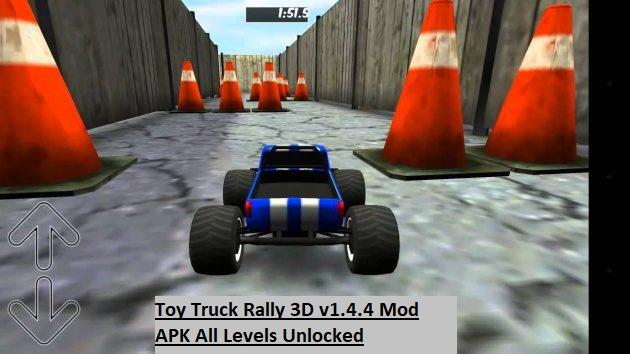 Toy Truck Rally 3D v1.4.4 Mod APK All Levels Unlocked
