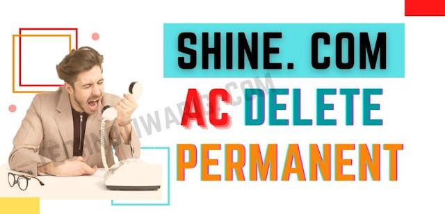 How to Delete Shine Account