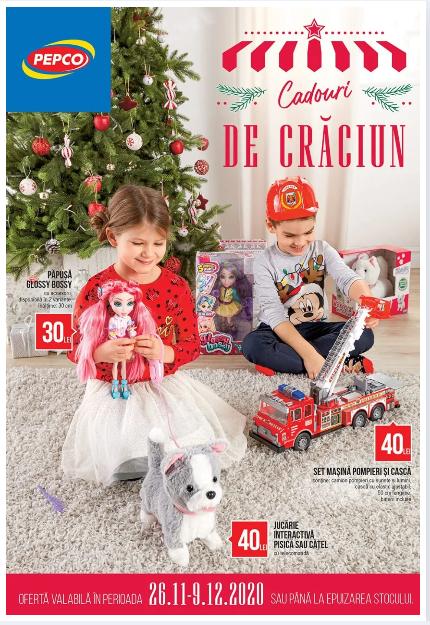 PEPCO Brosura + Promotii si oferte  25.11 - 09.12 2020 → Cadouri  de Crăciun