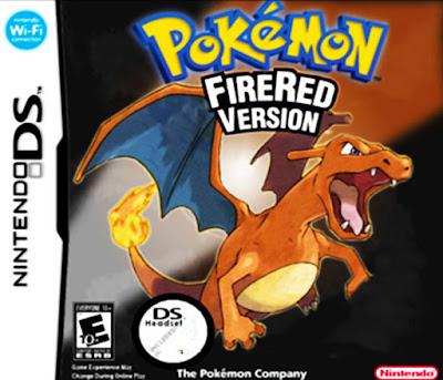 Pokemon Fire Red DS/Rojo Fuego para NDS Imagen Portada