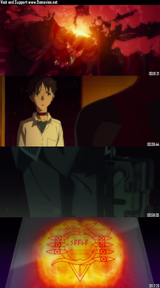 Evangelion 3.0 You Can (Not) Redo 2012 Dual Audio Hindi 720p WEB-DL 800mb