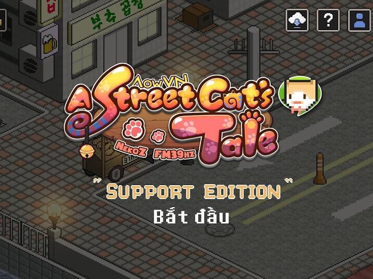 A Street Cat's Tale Việt Hoá | Game Android - Hành trình của bé mèo