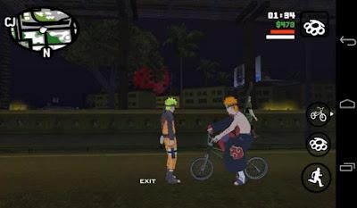 GTA San Andreas Mod Apk (Modpack Naruto by Lutfi - Final V) Android