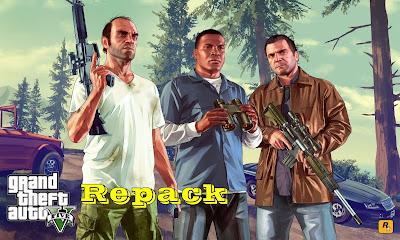 Cara Install game GTA V Repack Version (Versi Ringan)