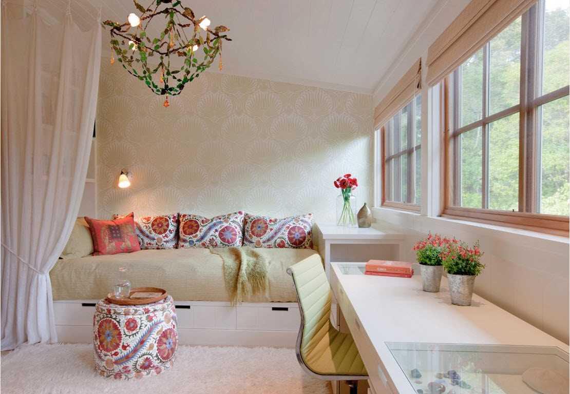 تصاميم وافكار ديكورات غرف نوم صغيرة الحجم