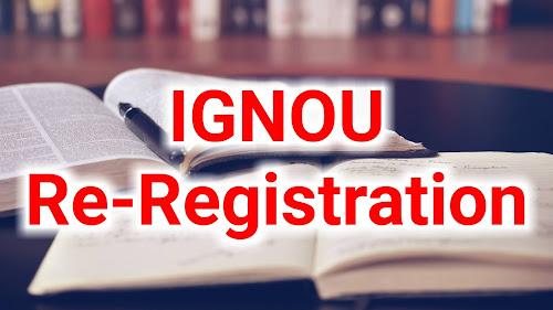 ignou re registration