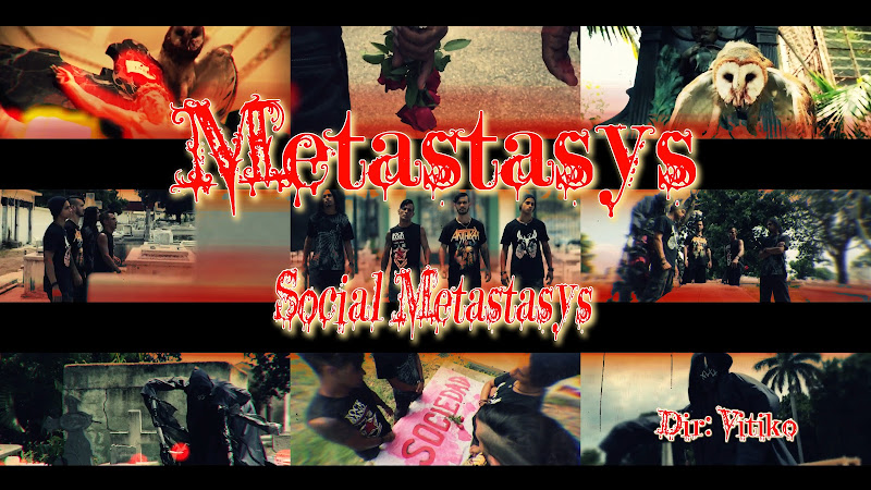 Metastasys - ¨Social Metastasys¨ - Videoclip - Director: Víctor Vinuesa (Vitiko). Portal Del Vídeo Clip Cubano