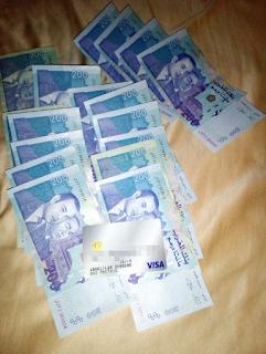 سحب الرصيد من بنك البايبال كاش بهذه البطاقة البنكية paypal