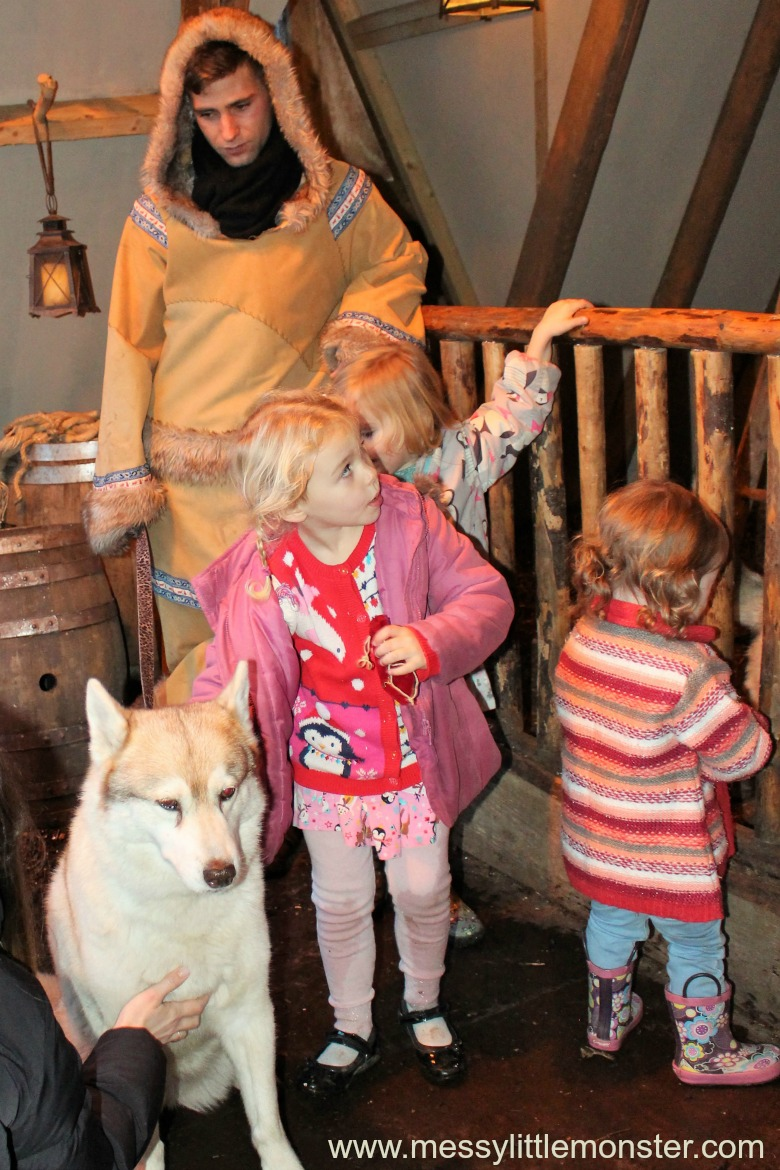 huskies at lapland uk review