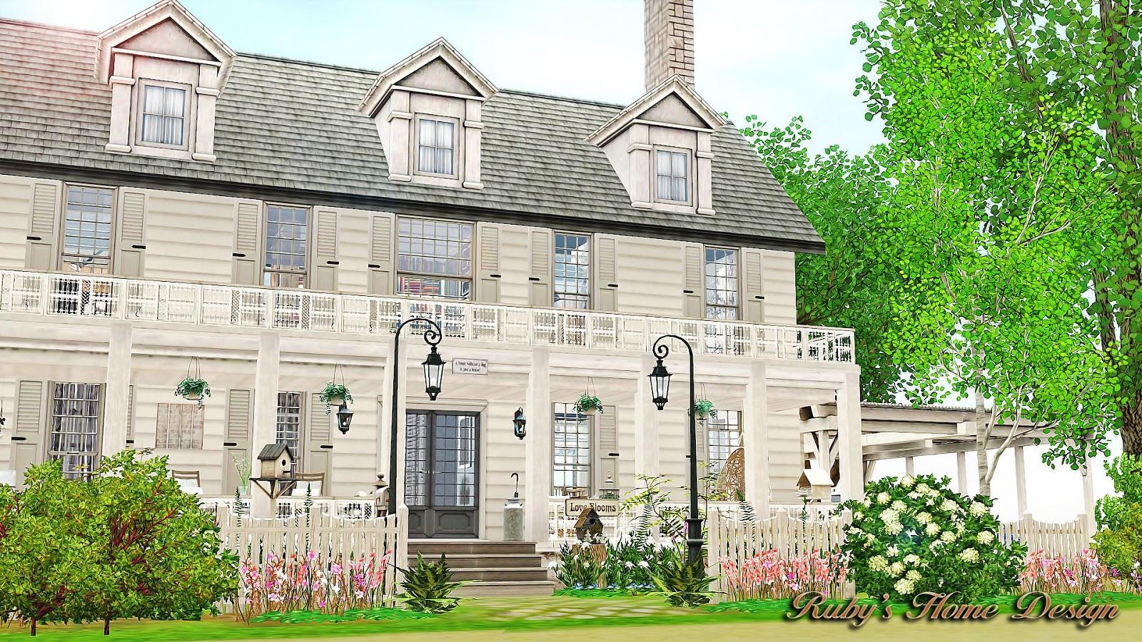 Sims3 Coastal Dreams Rubys Home Design