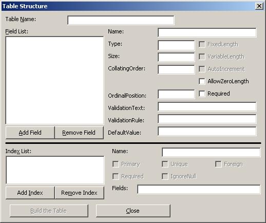 Cara Membuat Database Access untuk Visual Basic 6.0