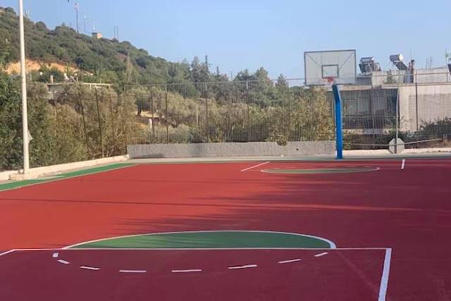 Ψίνθος: Ολοκληρώθηκε το Ανοικτό Γήπεδο Μπάσκετ (pics)