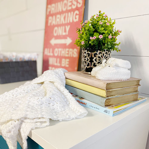 Used MCM Dresser To Chic Baby Change Table Upcycle