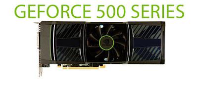 Nvidia GeForce 500シリーズの最新ドライバーをダウンロード