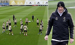 Real Madrid set a date to return to training ahead of La Liga reschedule