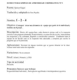 ESTRUCTURAS COOPERATIVAS SIMPLES