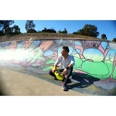 Mark Jansen Adelaide Skateboarding Hallett Cove Graffiti