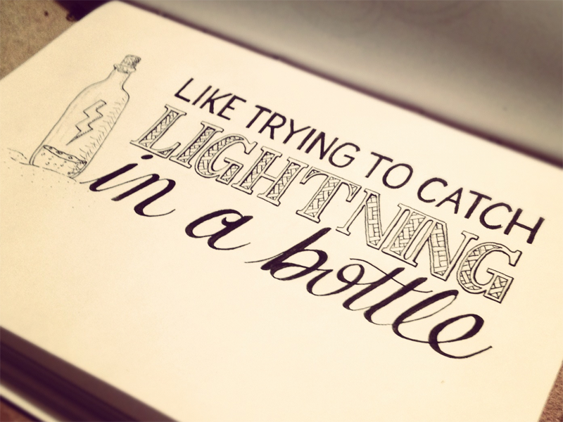 Amazing Quotes To Draw: Love/Hate : Hand Lettering Quotes By Sean McCabe