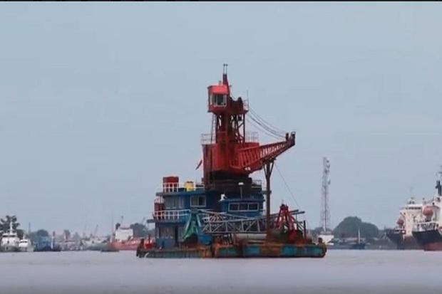 Kapal Asal China Tiba-tiba Masuk Perairan Sungai Kapuas, Sebar Corona?