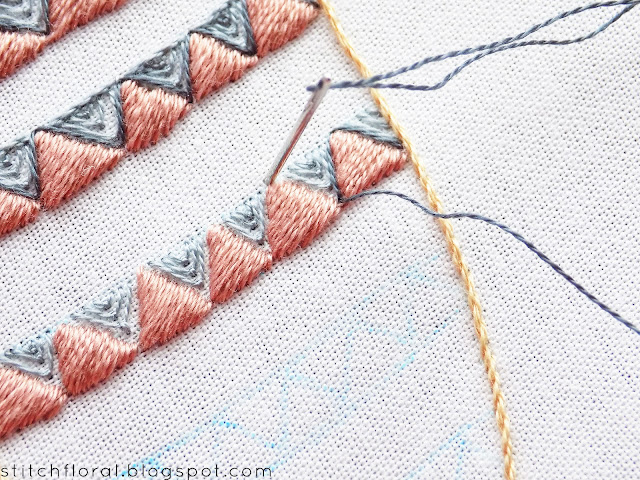 hand embroidery borders