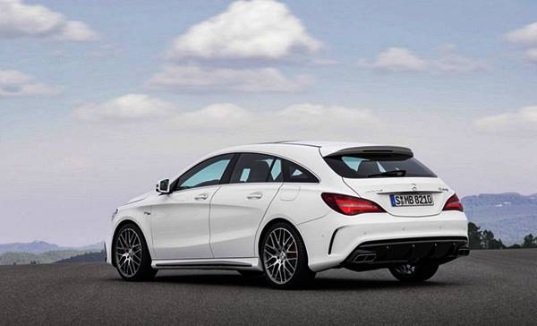2018 Mercedes-AMG CLA45 4Matic Facelift Shooting Brake