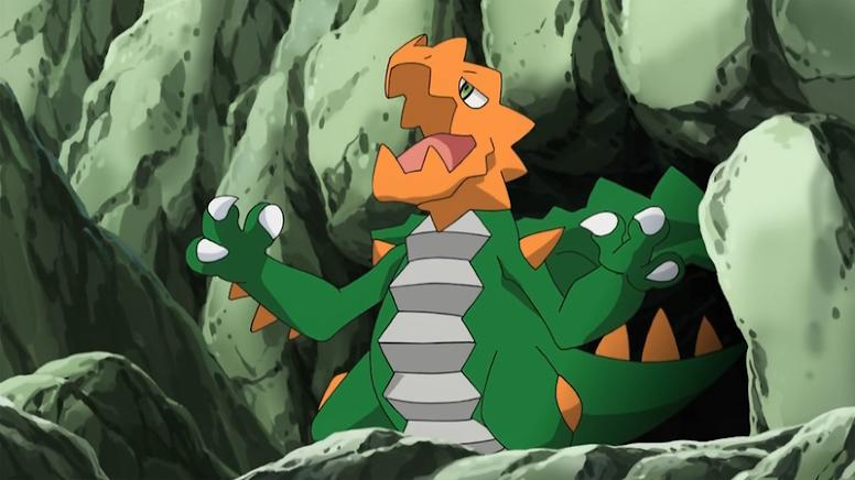 Druddigon Shiny Anime Pokémon