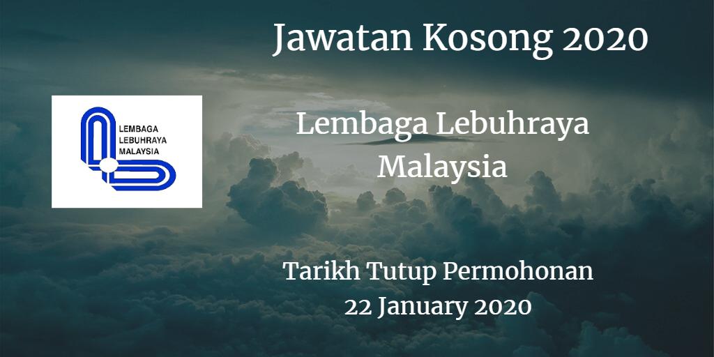 Jawatan Kosong LLM 22 January 2020