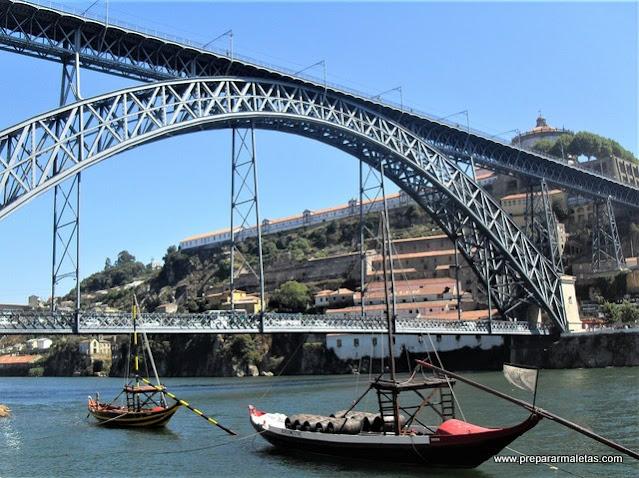 Oporto en una ruta en coche por Portugal