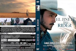 CARATULA EL JINETE-THE RIDER 2018 [COVER DVD]