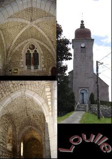 Loulle et son église