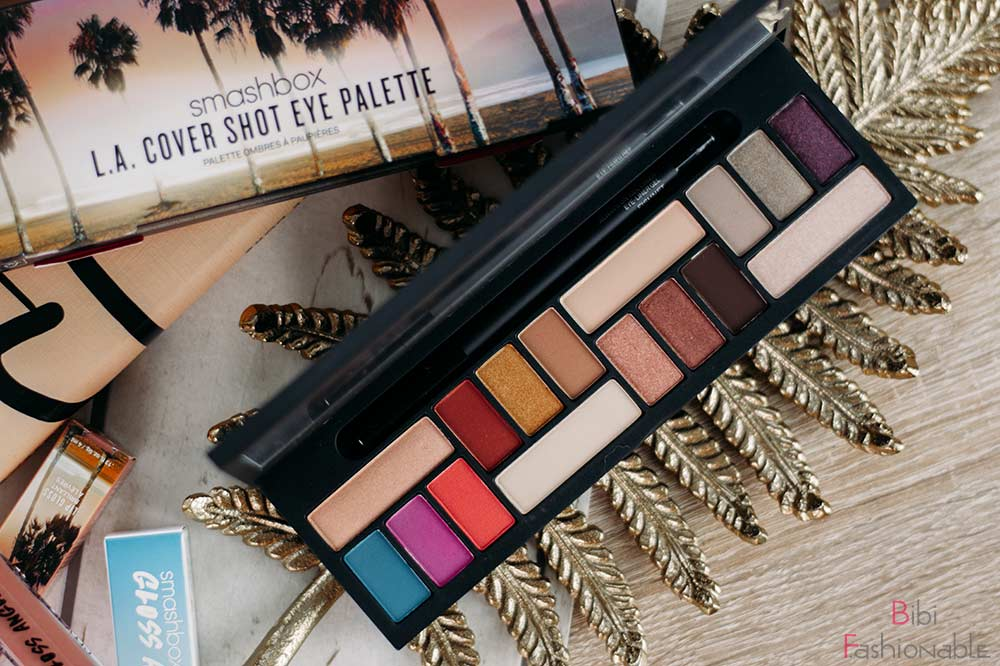Smashbox L.A. Cover Shot Eye Palette Flatlay