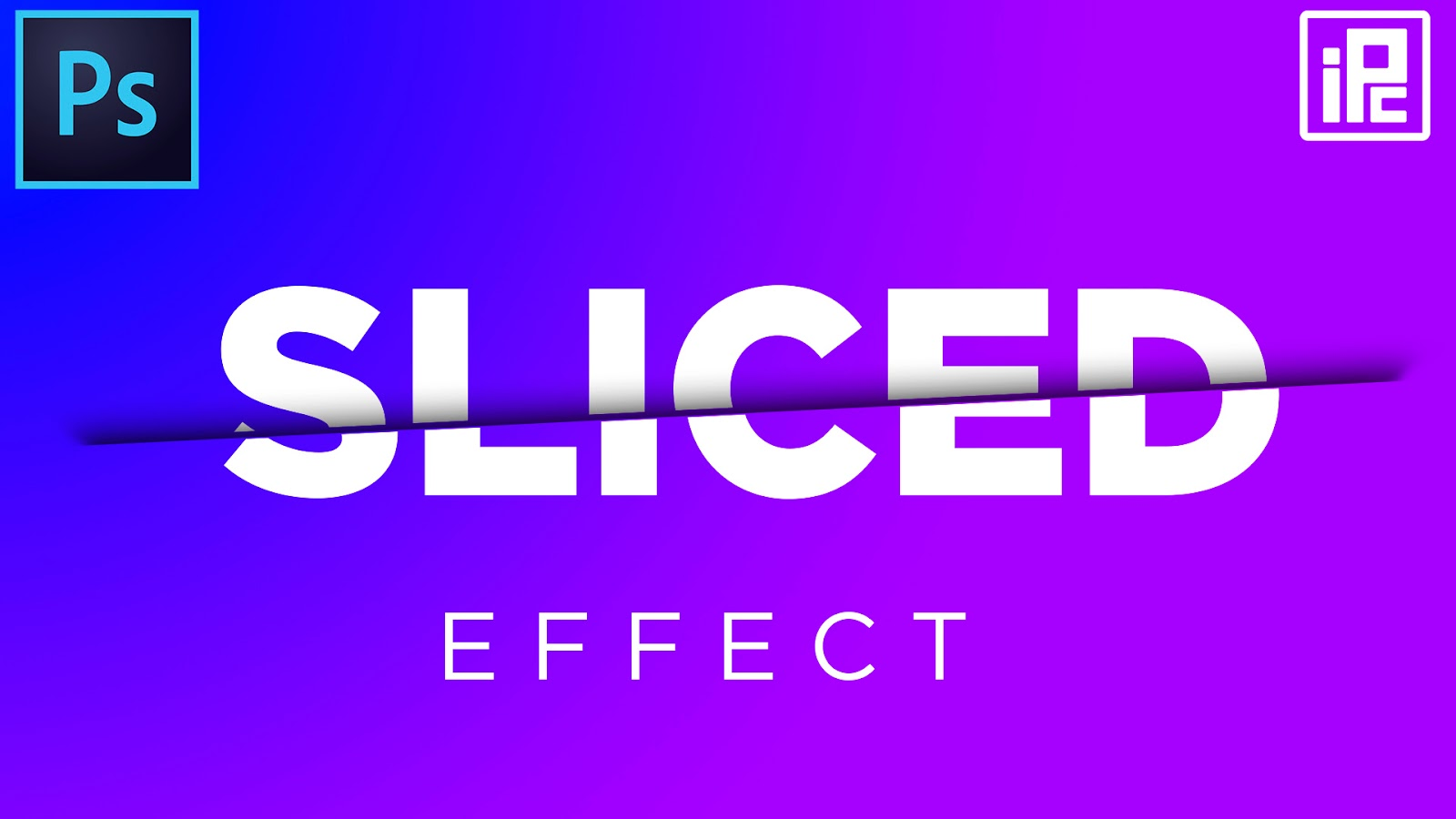 how to create sliced text effect in photoshop, create sliced text effect in photoshop, text effect, photoshop text effect, photoshop designt, design, image, text, photoshop, photoshop cc, photoshop cc 2019, photoshop tutorial, photoshop cc tutorial, photoshosp cc 2019 tutorial, illphocorphics, illphocorphics tutorial,