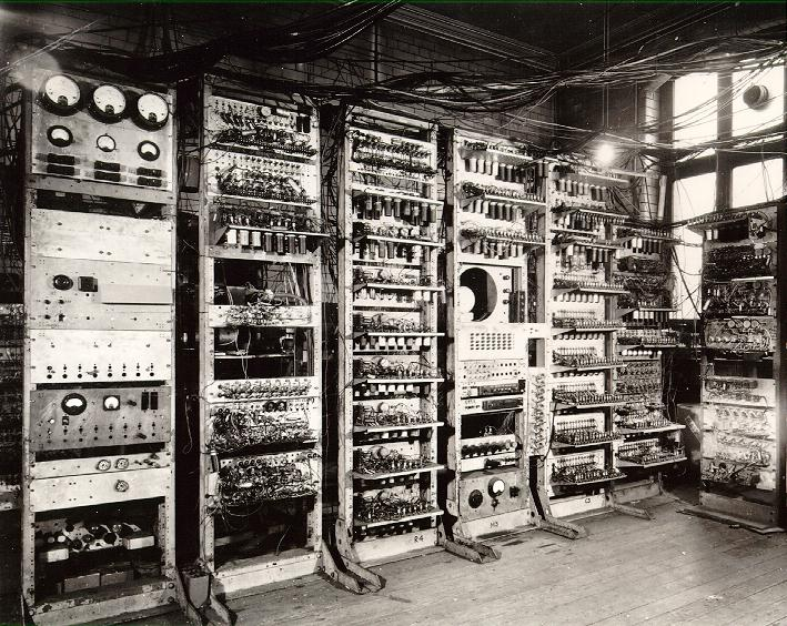 Los primeros ordenadores: Mark I
