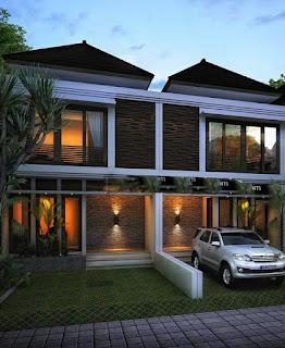 Ilustrasi Rumah Cluster Jannati Land Tipe 100