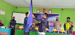 Karang Taruna Desa Lamatti Riawang Resmi di Lantik di Hadiri Ketua Karang Taruna Kabupaten