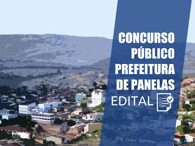 Concurso Público da Prefeitura de Panelas-PE