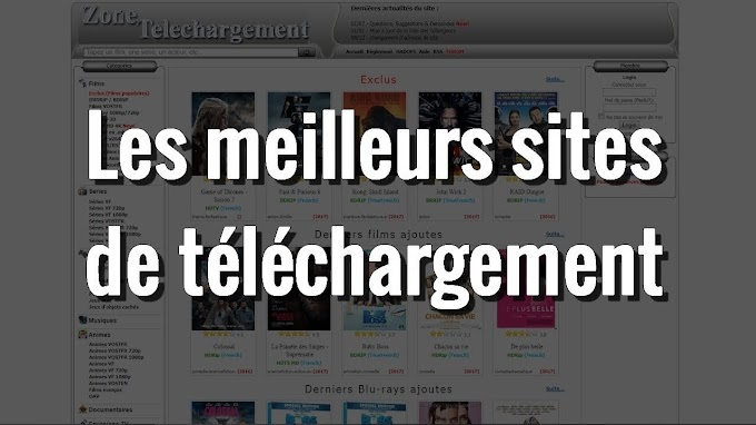 meilleurs sites de téléchargement films, séries, ebook, MP3 (DDL+Torrent) - Septembre 2020