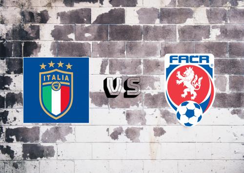Italia vs República Checa  Resumen y Partido Completo