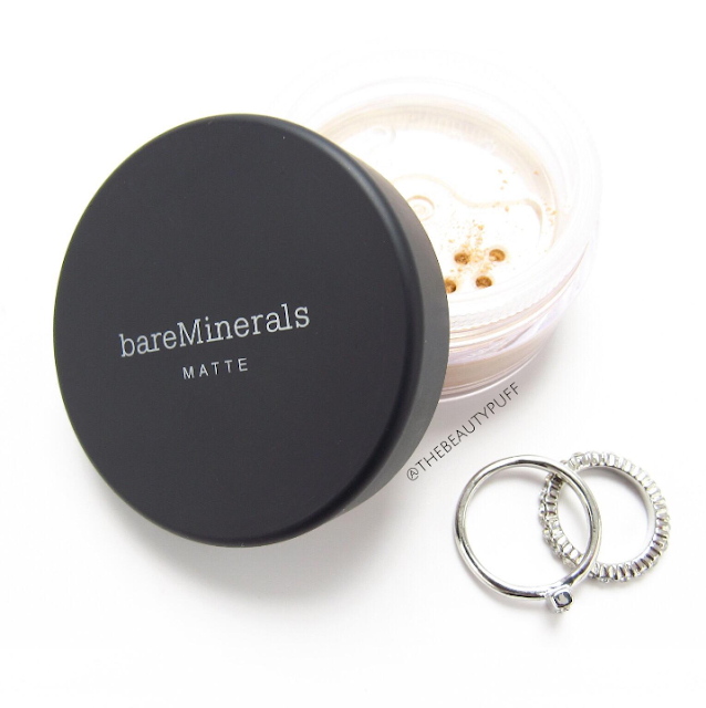 bareminerals matte foundation - the beauty puff
