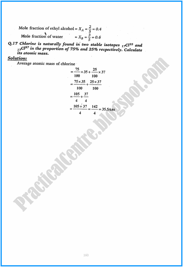 9th-chemistry-solved-numericals-five-year-paper-2015