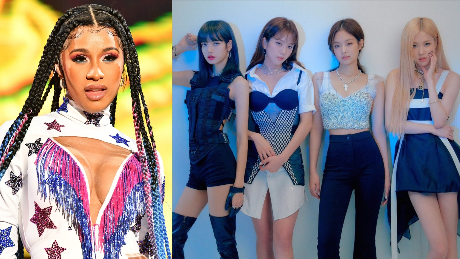 Cardi B Opens Up About Her Collaboration Songs with BLACKPINK