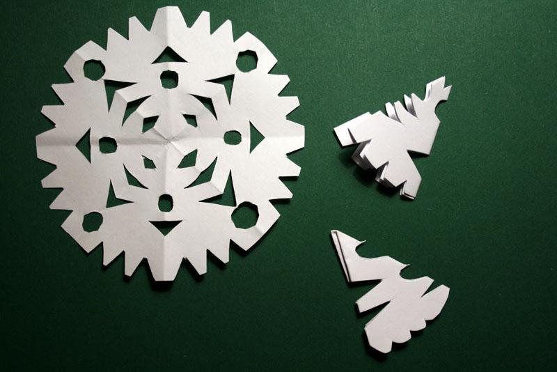 Fiocchi Di Neve Di Carta Facili : A casa di eli per l ora del tè fatine di carta