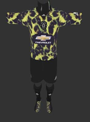 timeless design fc9e5 82661 PES 2013 Kits Manchester United Adidas x EA Sports Digital 4th