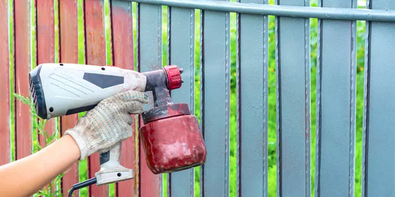 How to Choose the Best Paint Sprayer for Fences