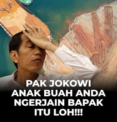 PAK JOKOWI ANAK BUAH ANDA NGERJAIN BAPAK ITU LOH!!!